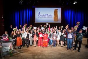 A SozialMarie címet odaítélték 15 projektnek